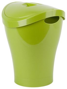 Umbra Trash Can for Bathrooms contemporary waste baskets
