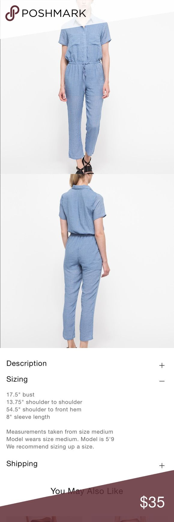 Need Supply Co Farrow Haikou Jumpsuit Light Blue M Super lightweight cotton jumpsuit. Some snags and general wear, but still in good condition. See photos for measurements from the Need Supply Co website. Size Medium, but runs small. Please contact me with any questions!! Farrow Need Supply Co Reformation Pants Jumpsuits & Rompers