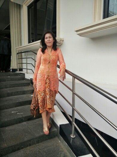 #kebaya #kain #batik #lace