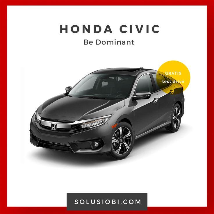 Mobil Honda Civic  Desain mobil Honda Civic terbaru yang lebih dinamis dan akraktif, dibekali dengan mesin i-VTEC yang menghasilkan performa powerfull untuk mobil sekelasnya dengan tenaga . . .