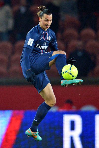 Zlatan Ibrahimovich with Paris Saint-Germain
