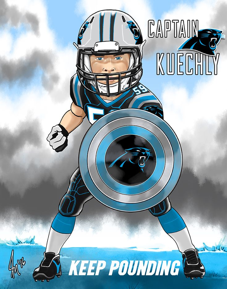 "Luke ""Captain"" Kuechly from the Carolina Panthers"