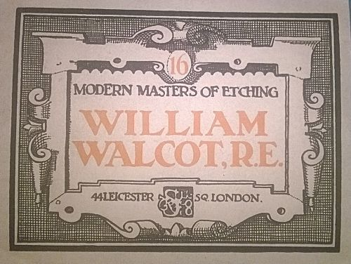 Buy Very Rare William Walcot Reproduced Prints / Etchings. Published 1927. View…
