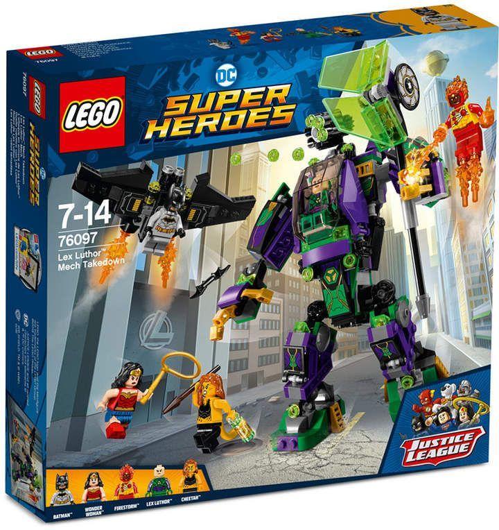 Lego Super Heroes DC Justice League Lex Luthor Mech Takedown 76097 nouveau