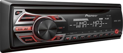 Best Buy $39.99 save $30 usually $70 Pioneer Car Stereo Receiver: car stereo receiver, which connects to your cell phone, MP3 player or other audio device via the front auxiliary input. You can also play CD, CD-R and CD-RW discs. almost 5 stars