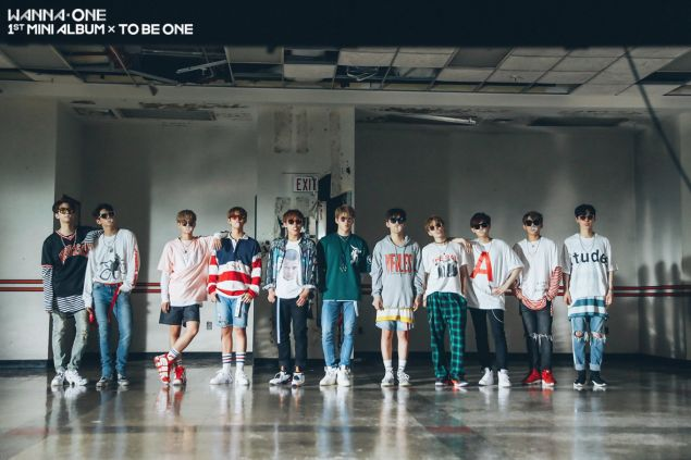 Wanna One release bonus cuts from the set of 'Energetic' MV | allkpop.com