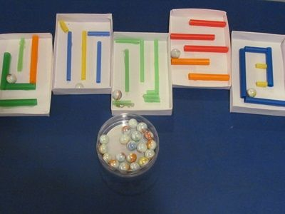 Making a-maze-ing marble mazes for the preschool classroom – Teach Preschool