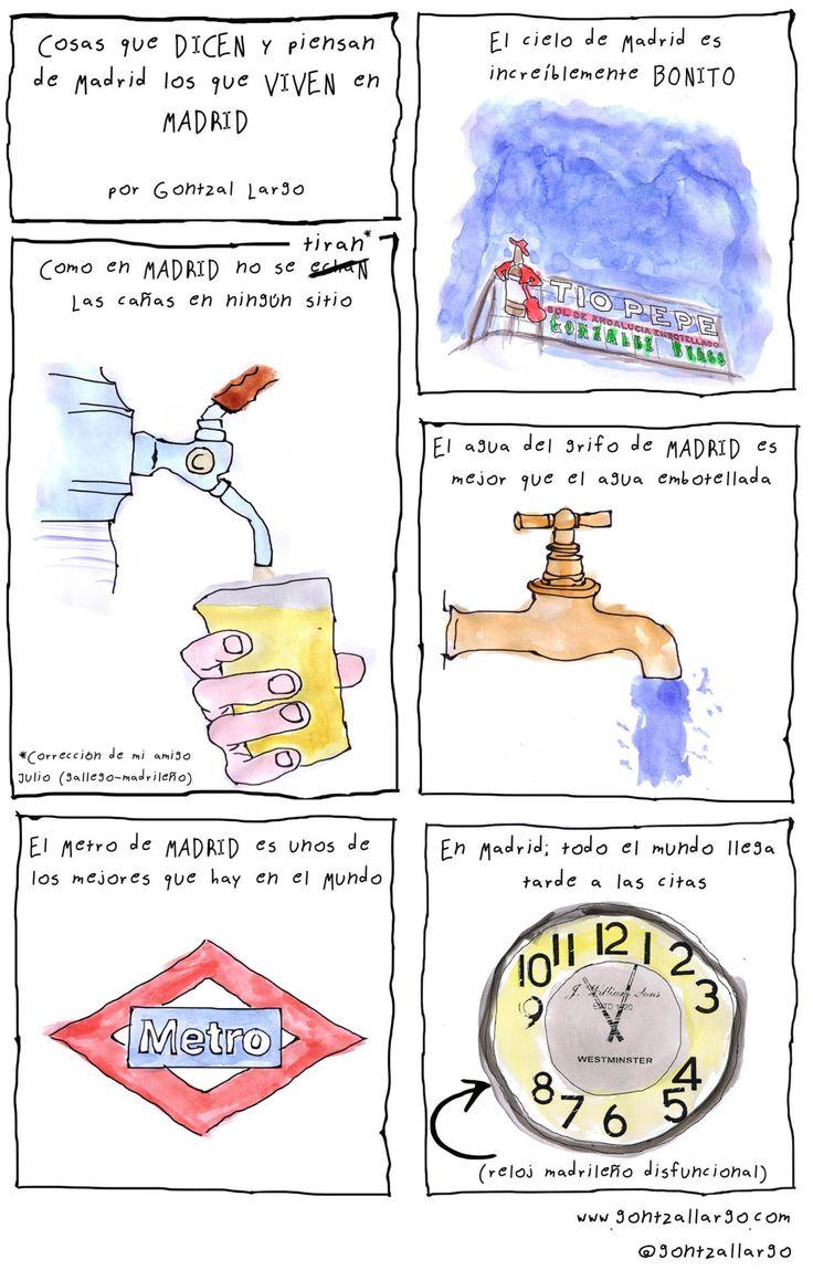 A1/B2 - Cosas que los madrileños dicen de Madrid. ¿Y de vuestra ciudad? ¿Qué dicen los habitantes de ella?