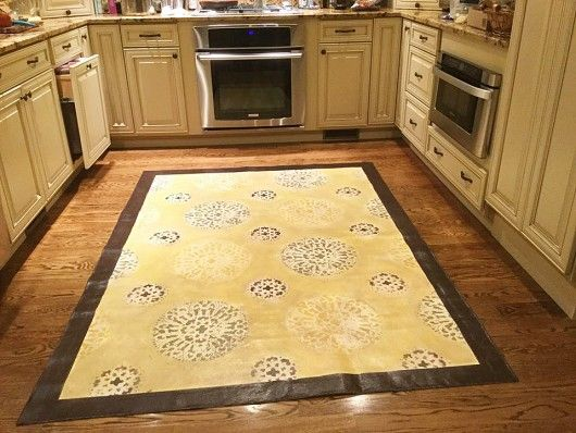 15 best images about stenciled floors on