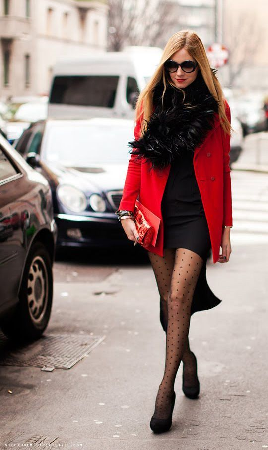 How to Wear Patterned Tights: Glam Radar waysify