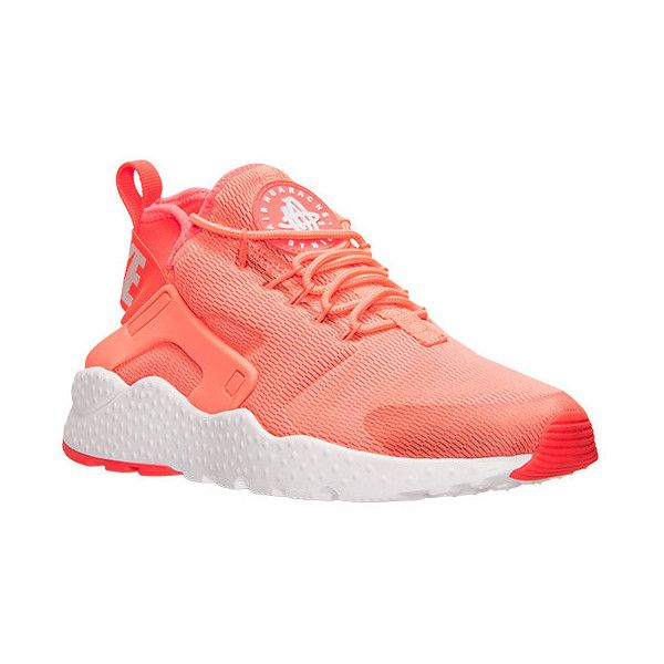 Nike Women's Air Huarache Run Ultra Running Shoes ($115) ❤ liked on  Polyvore featuring