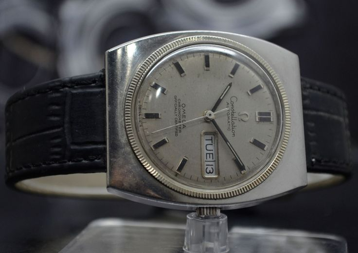 OMEGA CONSTELLATION DAY-DATE CAL.751 AUTOMATIC SWISS WRISTWATCH