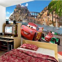 3d автомобиль мультфильм мальчики девочки детская комната спальня 3d настенные обои для гостиной обои для стен papel parede