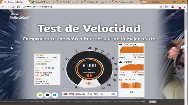 Cómo medir la velocidad de nuestra conexión de internet con 8 páginas di...
