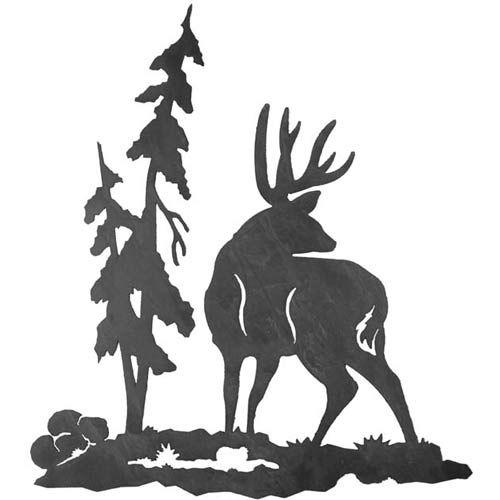 Mule Deer Scroll Saw Patterns