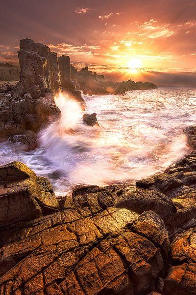 ~~Fire and Water ~ Bombo, Kiama, NSW, Australia by Joshua Zhang~~