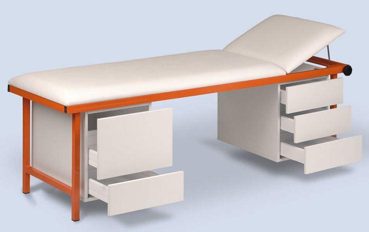 Table de d'examen et de soin, équipement pour cabinet médical