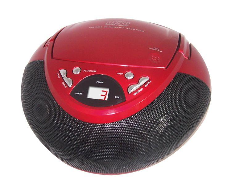 Inovalley Portable Boombox AM: Amazon.co.uk: Electronics