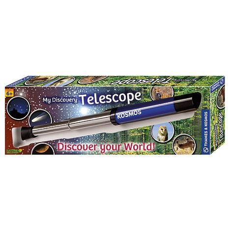 My DiscoveryTelescope is the idealfirst telescope for children6years up.Features 12x optical magnification and a soft shell ocular lens covert#toys2learn#science#kit#telescope#thames&cosmos#learning#teaching#home#school#kids#childrens#space#australia#