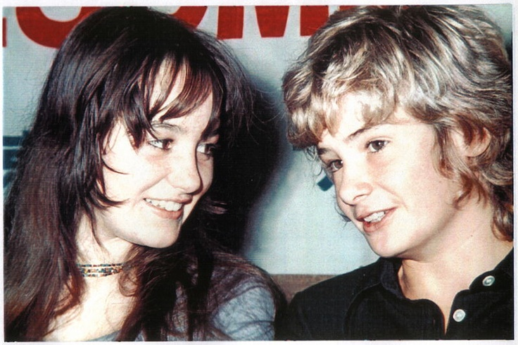 Mark Lester with Tracy Hyde again :) Pics courtesy of Elle Tracey