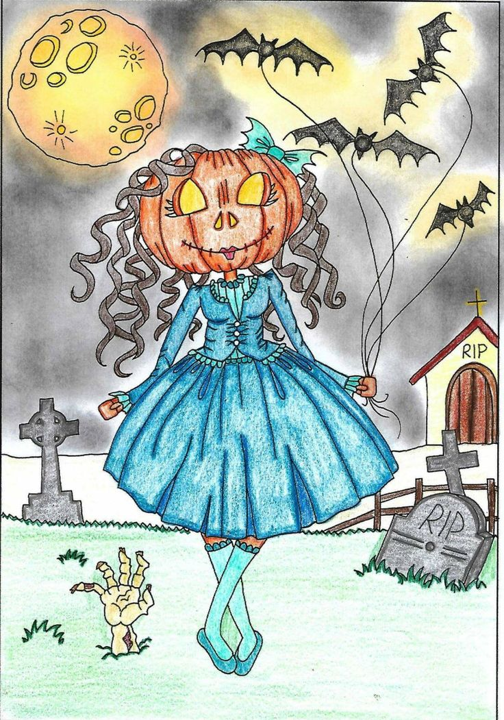 From sassy colourings adult colouring book Happy Halloween