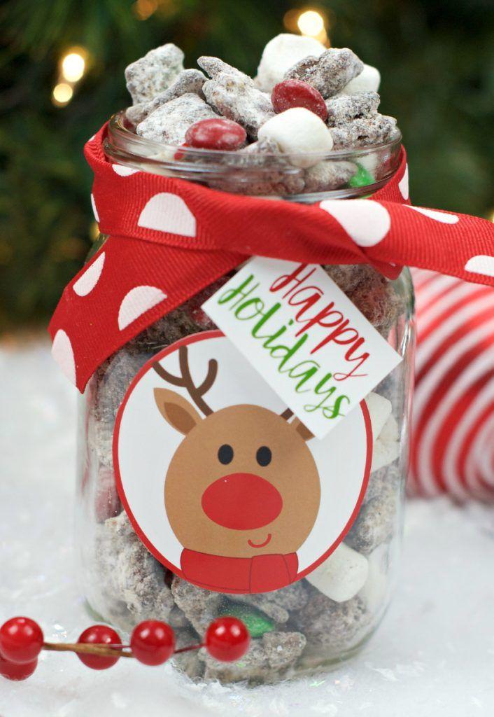 Marshmallow Muddy Buddies Recipe holidays Pinterest