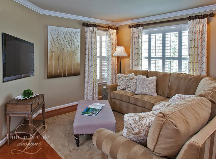 Family room style lauren nicole designs living room for Interior design charlotte nc