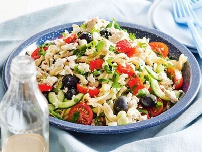 Pasta Feta Salad Recipe