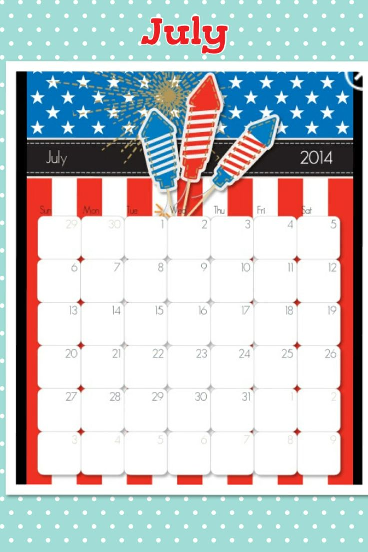 11 best free printable calendars images on pinterest