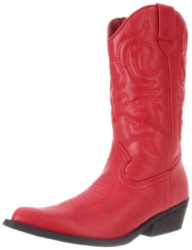 Rampage Women's Wellington Boot,Burnished Red,6 M US
