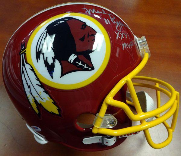 "Mark Rypien Autographed Washington Redskins Full Size Helmet """"XXVI MVP"""" PSA/DNA"