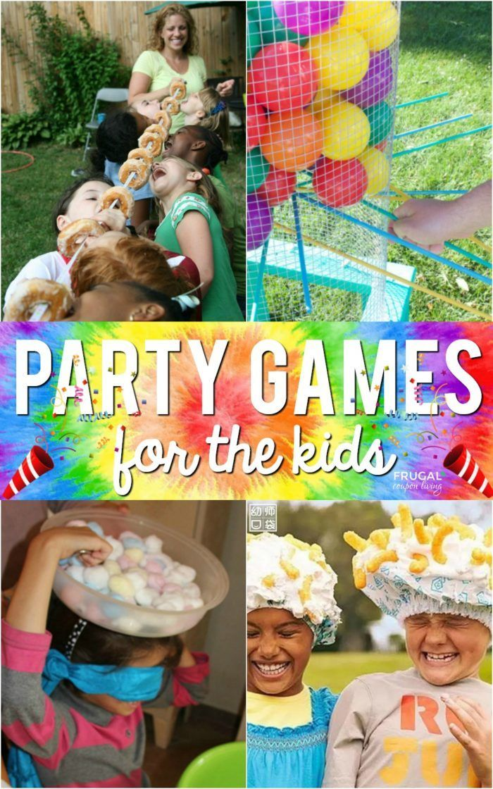 Kids Party Games Outdoors birthday party, Birthday party