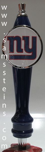 Sam's Man Cave - New York Giants Beer Tap, $45.00 (http://www.samsmancave.com/new-york-giants-beer-tap/)
