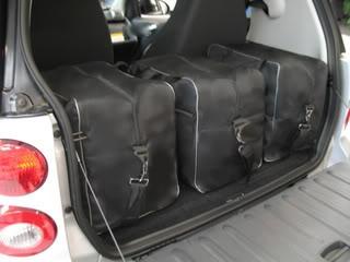 Smart Car Custom Fitted Luggage Set Set Of 3 Interesting