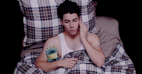 Pin for Later: All the Times Nick Jonas Perfects Scary-Sexy on Scream Queens And He's Scared of the Serial Killer