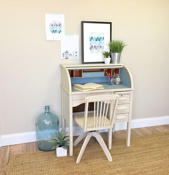 This Antique Roll Top Desk For Kids Will Add Tons Of Interest And Style To Your