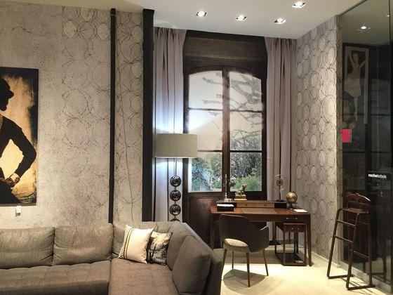 Roche Bobois Manhattan Showroom by Tecnografica #architonic #wall #decor #covering #wallpaper