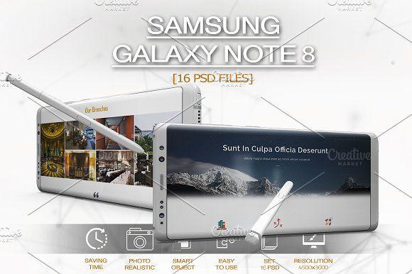 Samsung Galaxy Note 8 Mockup Samsung Galaxy Note 8 Personal Presentation Samsung Galaxy