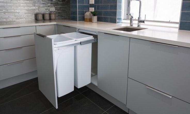 Hideaway 2 x 40L Kitchen Waste Bin