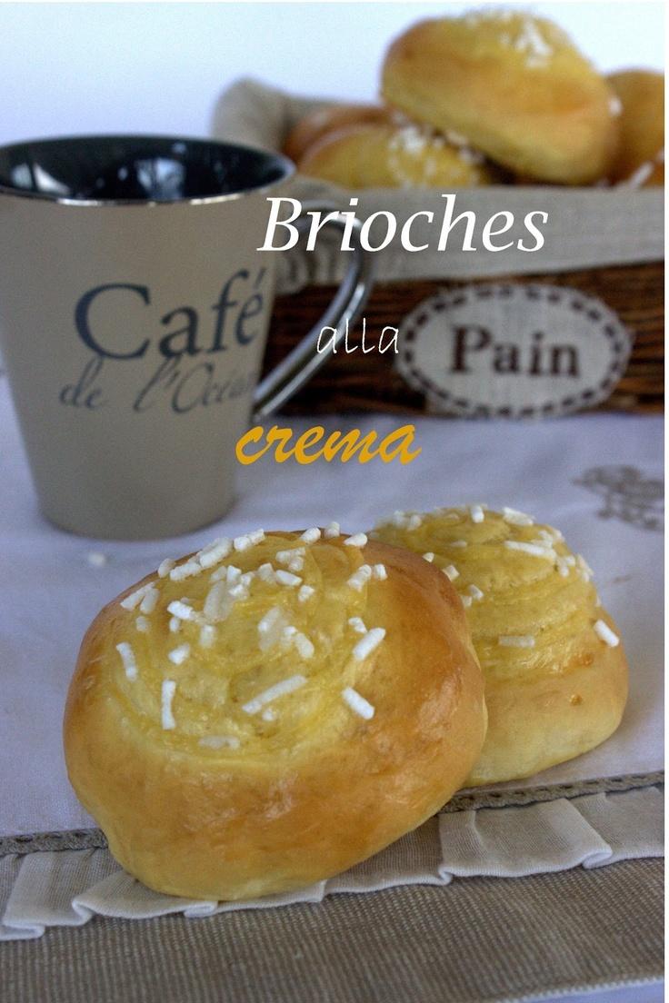 La bottega delle dolci tradizioni: Brioches alla crema