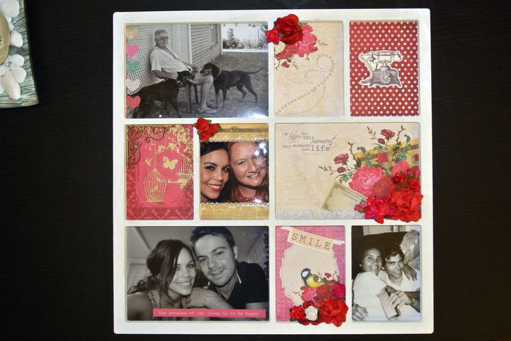 Kaisercraft Beyond the Page 9 Frame with Telegraph Road Collection
