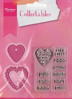 COL1307 Collectables Candy hearts GB