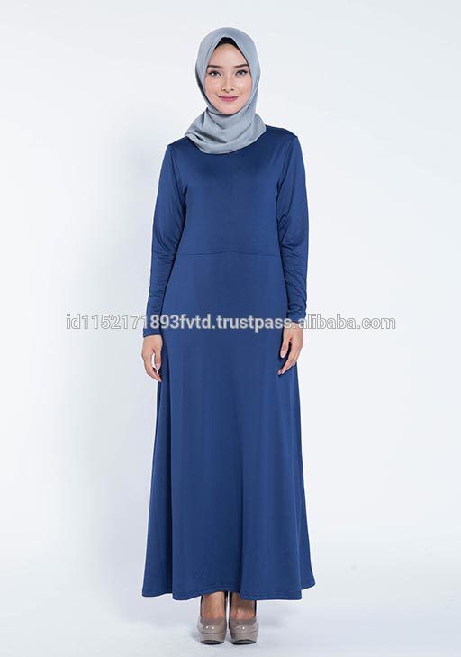 High Quality Dress Elzatta Gamia Adela (Nursing Wear) Navy Hijab For The World
