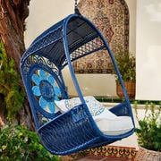 Swingasan® Blue Medallion Hanging Chair