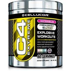 A Cellucor C4 Extreme-et energia hajtja. Mivel a C4 Extreme a páratlan NO3 technológiát alkalmazza, valamint olyan prémium összetevőket, mint a kreatin-nitrát, minden más edzés előtti kiegészítőnél előremutatóbb – és magában hordozza az erőt, hogy edzésről edzésre begyújtsa a szellemedet, az izmaidat és az edzésarzenálodat.