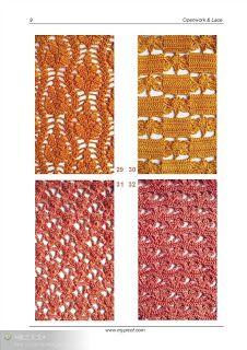 SOLO PUNTOS: Puntos crochet