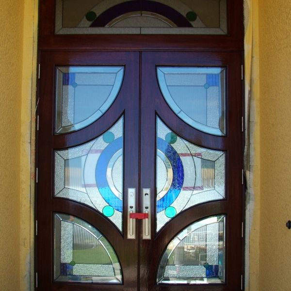 Leaded Door (193)