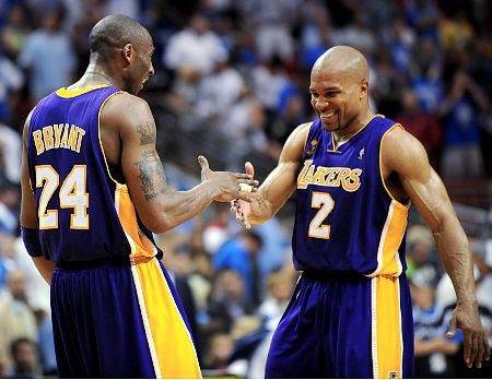 derek fisher and kobe bryant relationship with mother