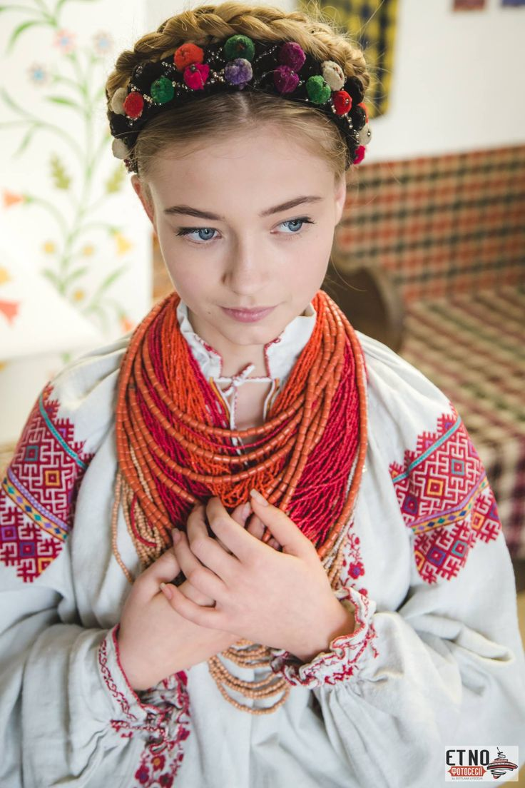 Beautiful Traditional Ukrainian Style Crown Braid