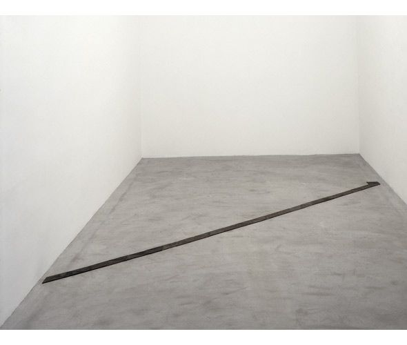 """Carl Andre """"Bend Smithson (The Old Rattler)"""", 1997"""